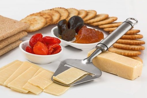 Cheese Slicer Crackers Appetizers